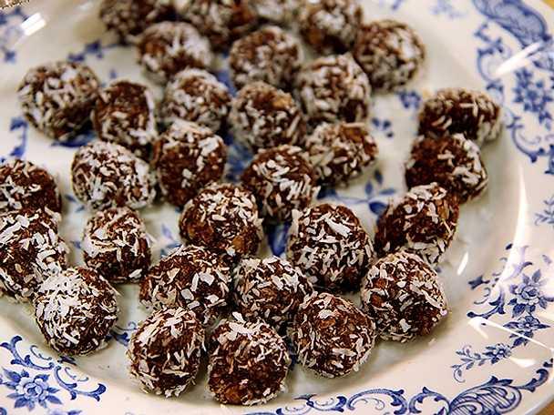 Birgitta Rasmussons chokladbollar