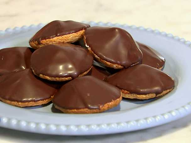 recept på chokladbiskvier