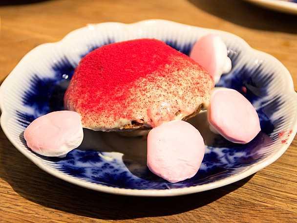 Biskvisvampar med lingonsmak
