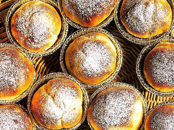 Blåbärsmuffins med citron