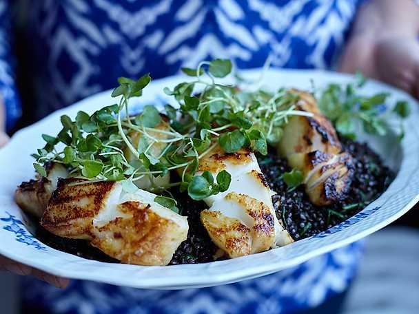 Black cod - misomarinerad torsk med svarta belugalinser