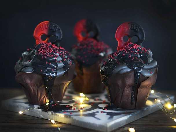 Black magic muffin