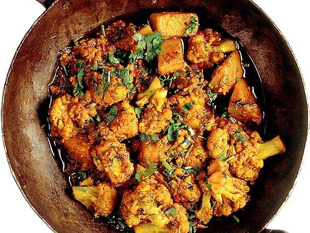 Blomkål med potatis