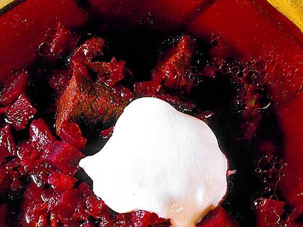 Borsjtj - rysk rödbetssoppa