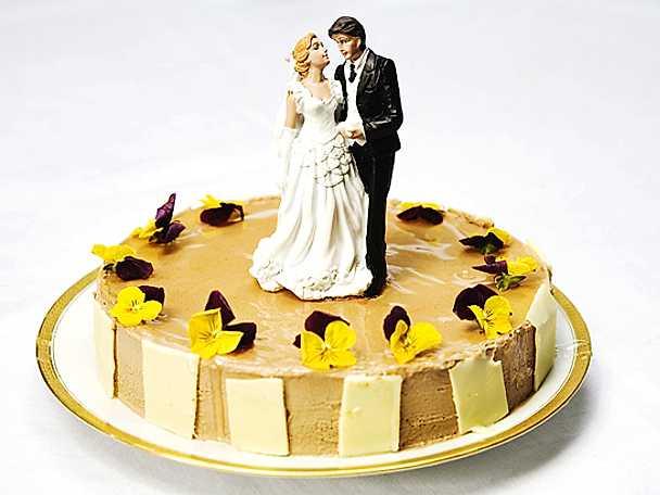 Bröllopstårta från Årets konditor 2006