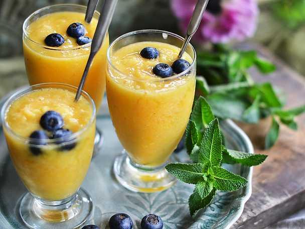 Bubblig mangosmoothie