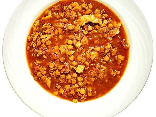 Bulgarisk linssoppa