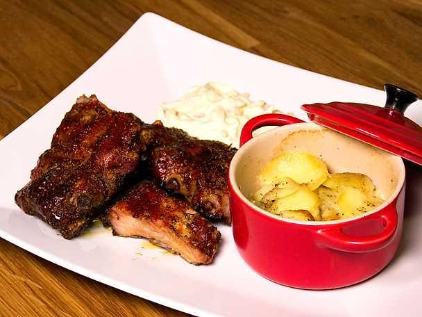 Côtes de porc grillées à la mode cajun