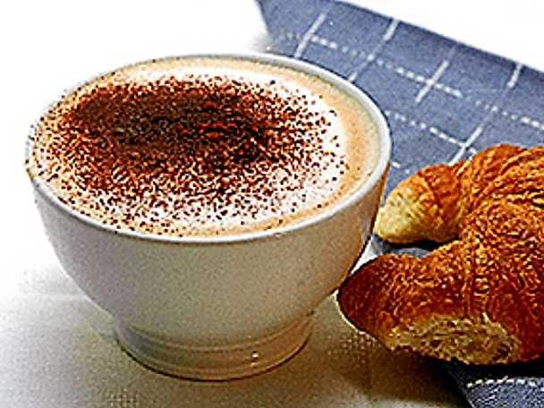 Café au lait - kaffe på franska