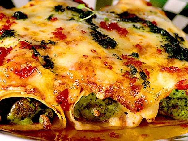 Cannelloni med kyckling