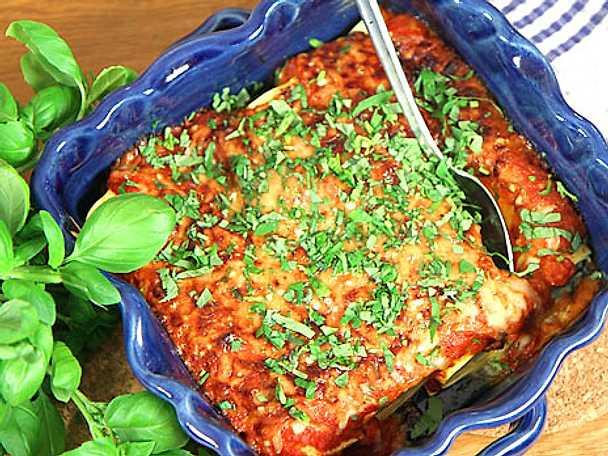 Cannelloni med spenat och ricotta
