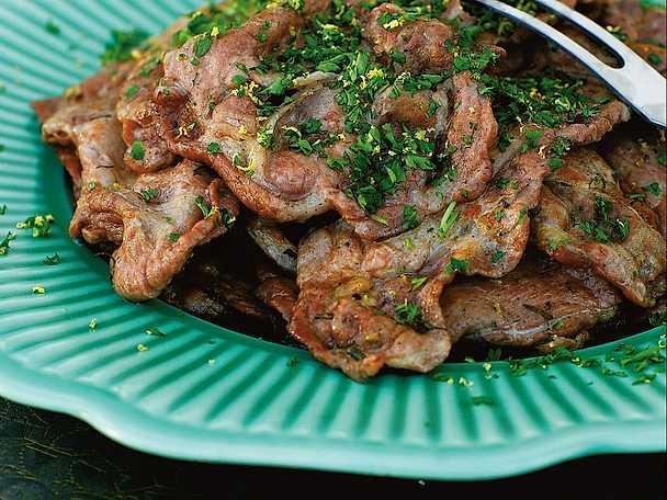 Capocollo fresco alla griglia - grillad fläskkarré