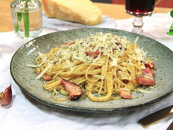 pasta carbonara recept paolo