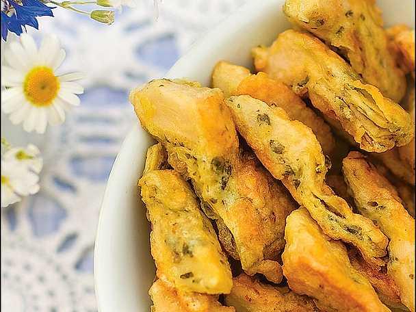 Carciofini fritte - friterad kronärtskocka