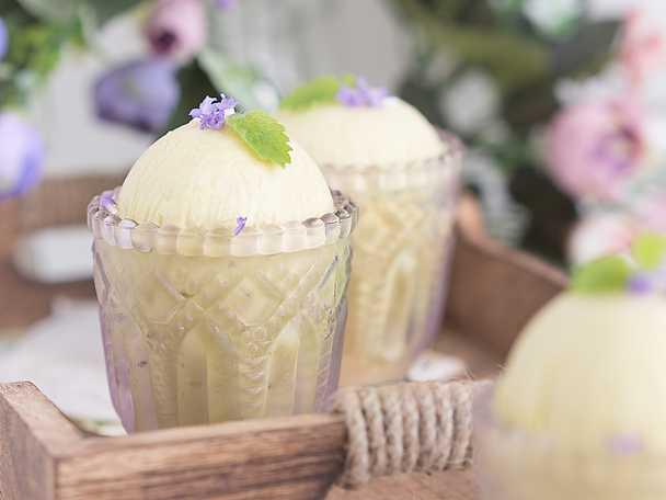 Cashewglass med te