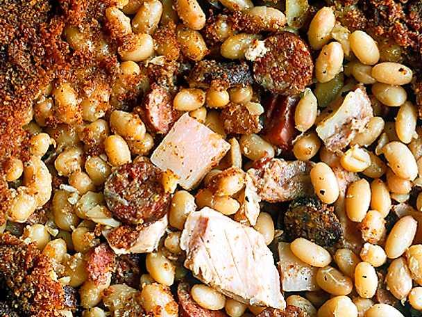 Cassoulet med vita bönor