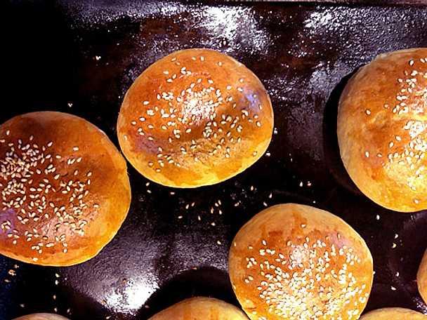 Cemita - bröd med sesamfrö