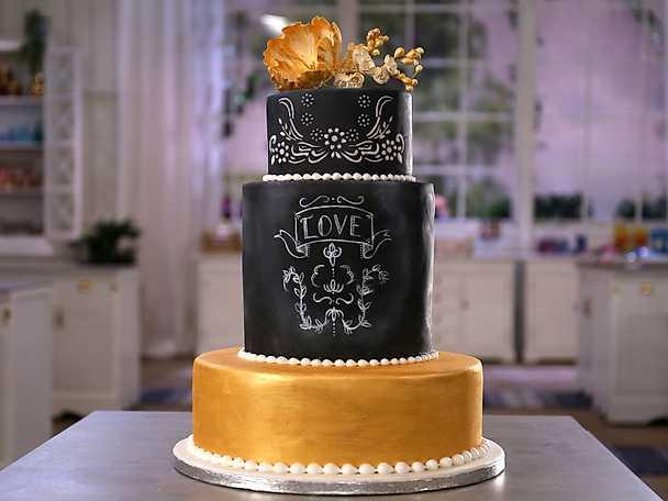 Chalkpaint cake - så gör du!