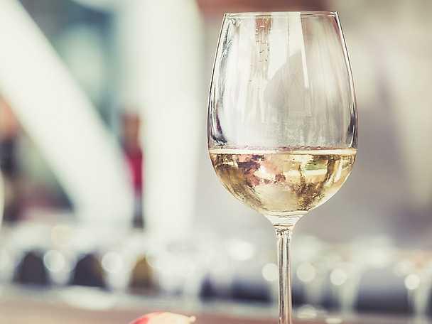 Chardonnay eller Chablis vitt vin