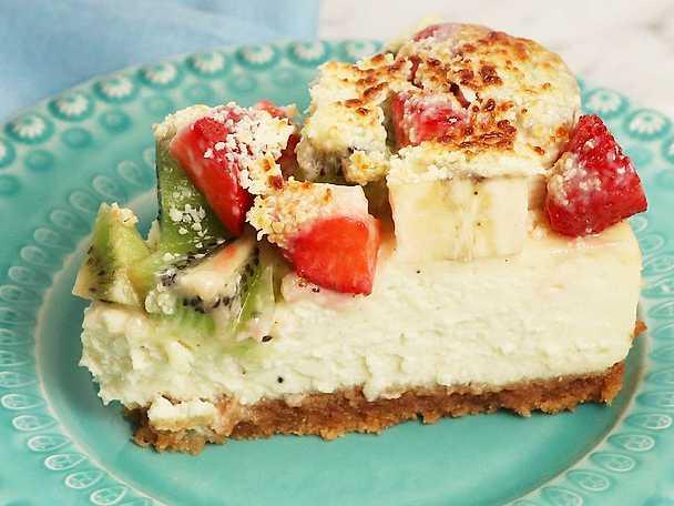 Cheesecake med gino