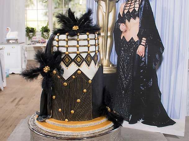 Cher-tårta