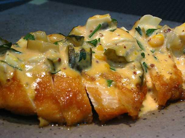 Chikin Nanban - friterad kyckling med Nanban och Tartarsås