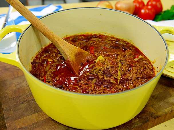 Chili con carne à la Myllymäki