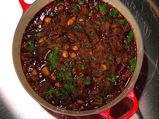 chili con carne högrev långkok