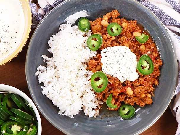 Chili sin carne - Siri Barjes recept