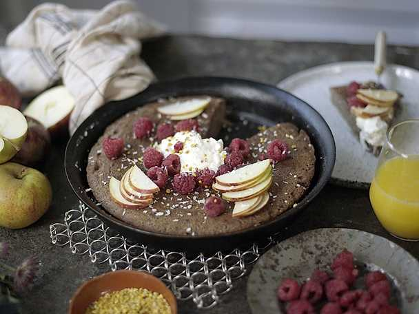 Chocolate hotcake