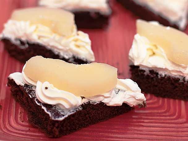 Choklad- och mintkaka