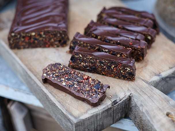 Chokladbröd med torkad frukt