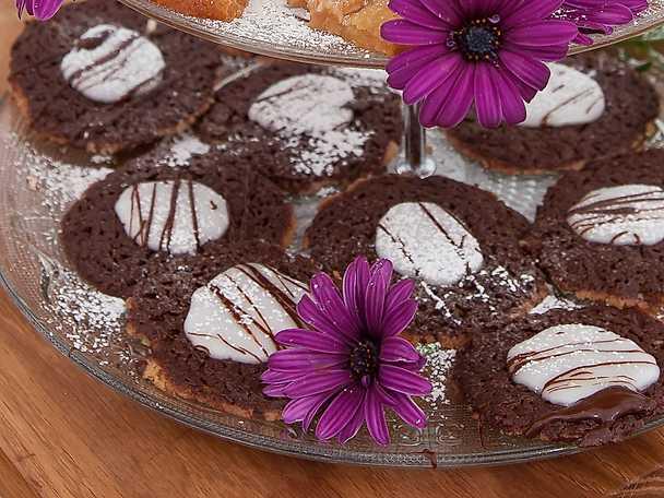 Chokladdrömmar med mintglasyr