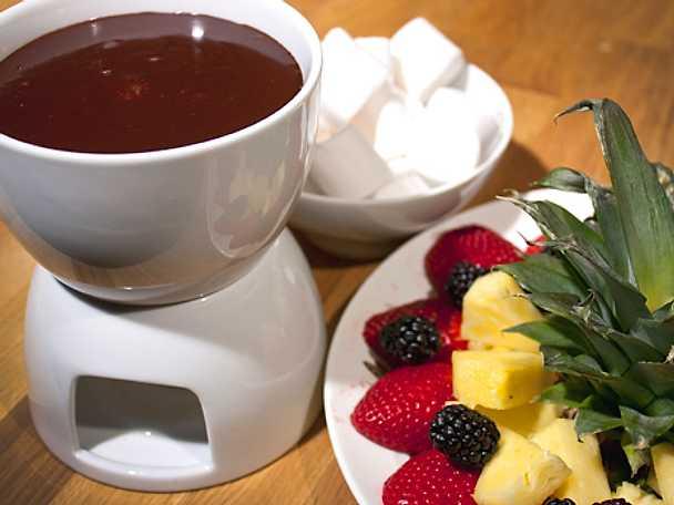 Chokladfondue