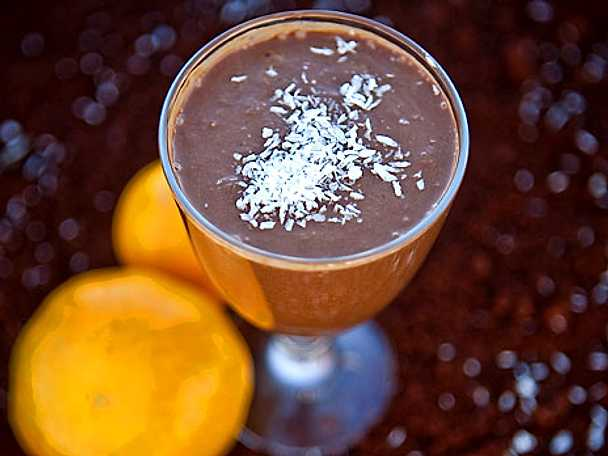 Chokladfrukost-smoothie