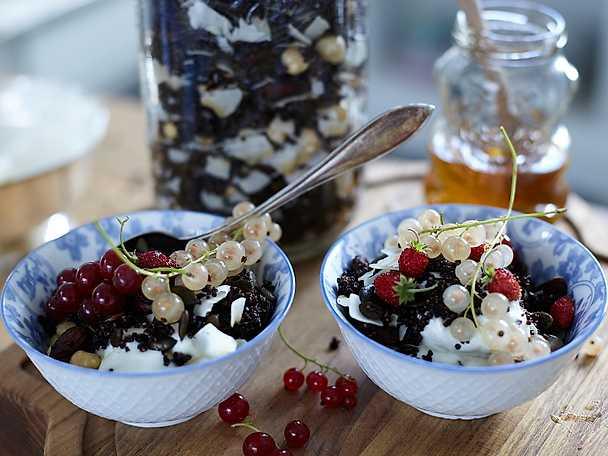 Chokladgranola med quinoa