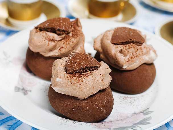 Chokladkaffesemlor