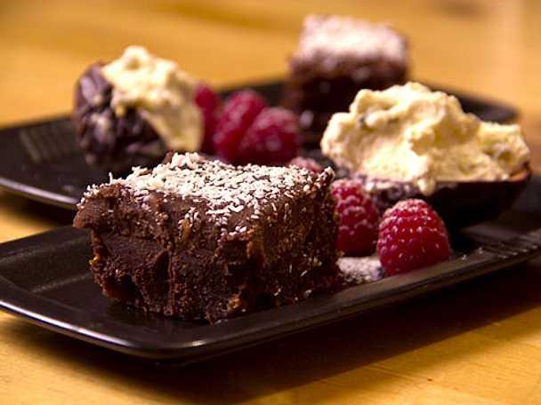 Chokladkaka med konjaksfikon