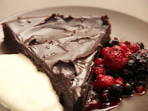 Chokladkaka med tryffel