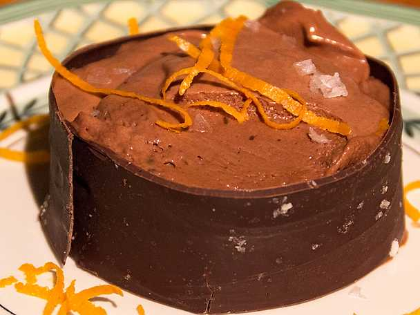 Chokladmoussesurprise för chokofilen