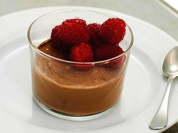 Chokladpannacotta
