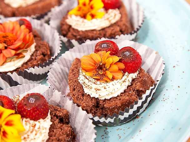 Chokladrulltårta med konjak