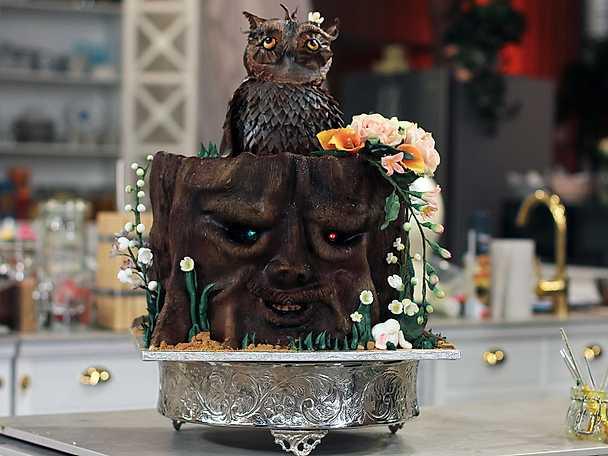 Chokladtårta med hallon och vanilj