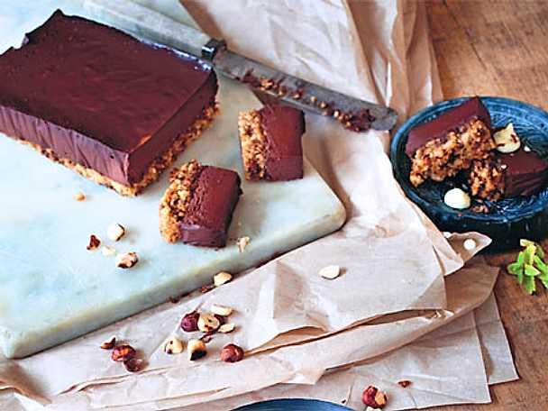 Chokladterrin på pralinébotten