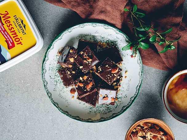 Chokladtryfflar med messmör