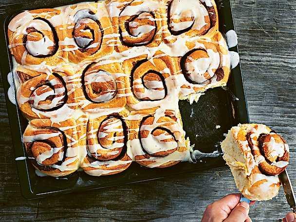 Cinnamon buns - Tareq Taylors recept