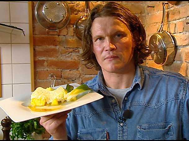 Citron- och kokosparfait