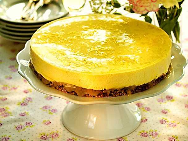 recept moussetårta citron