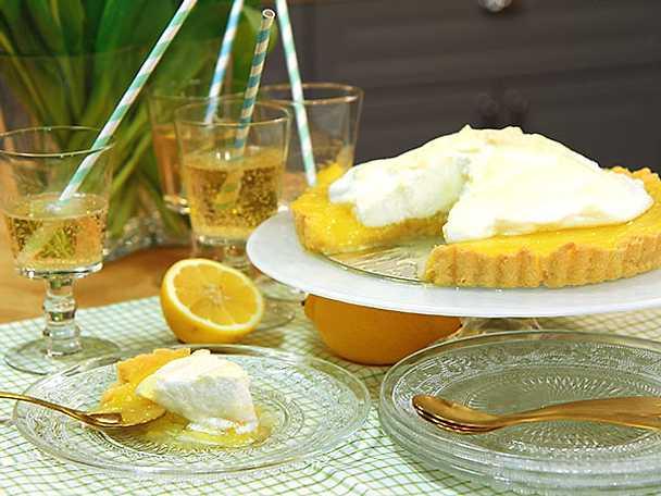 Citronpaj med maräng