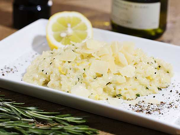 Citronrisotto
